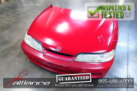 JDM 94-01 Honda Acura Integra DC2 DB8 DB6 Nose Cut Conversion Headlights Bumper - JDM Alliance LLC