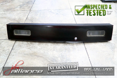 JDM Nissan 180SX 240SX S13 Rear Tail Light Center Garnish with Reverse Lights - JDM Alliance