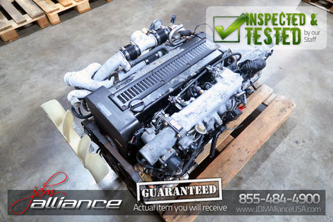 JDM Toyota 1JZ-GTE Twin Turbo 2.5L DOHC *Rear Sump* Engine 1JZ Non VVTi - JDM Alliance LLC