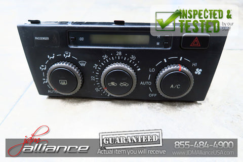JDM 99-05 Toyota Altezza Lexus IS AC Heater Climate Control Unit SXE10 GXE10