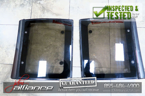 JDM 90-95 Nissan 300ZX Z32 Fairlady OEM Glass T-Top Panels Hardtop LH RH