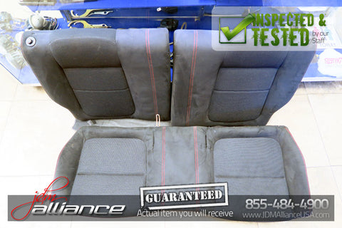 JDM 94-01 Honda Acura Integra Type R DC2 OEM Rear Recaro Seats Red Stitching - JDM Alliance