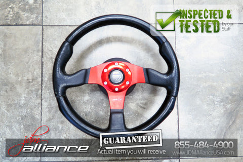 JDM MOMO Race TYP D35 Steering Wheel - JDM Alliance LLC
