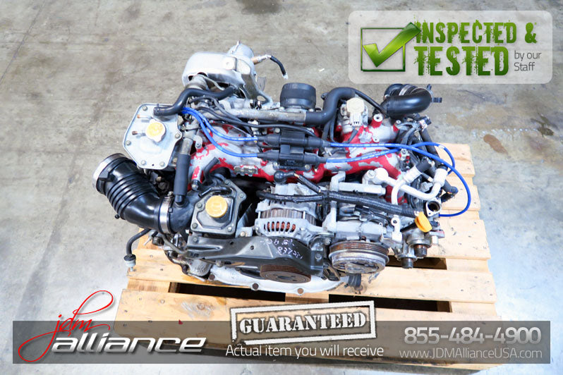 JDM 97-98 Subaru WRX STi EJ20 2 0L DOHC IHI-Turbo Engine GC8 GF8 Version 4 5