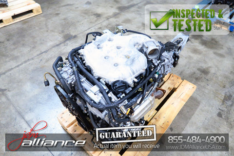 JDM 03-06 Nissan VQ35DE 3.5L V6 Engine 6 Spd Manual Transmission 350Z Wiirng ECU - JDM Alliance LLC