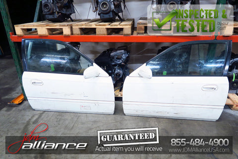 JDM 96-00 Honda Civic Type R EK9 RHD OEM EK9 Doors Pair LH RH Hatch EK4 CTR - JDM Alliance