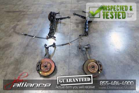 JDM Honda Civic Front Rear Disk Brake Conversion 4x100 Hub Spindle Calipers SiR - JDM Alliance