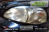 JDM 96-98 Honda Civic EK4 SiR Front Nose Cut Bumper Headlights Fender EK9 - JDM Alliance LLC