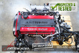JDM 96-98 Mitsubishi Lancer Evolution IV 4G63 2.0L DOHC Turbo Engine EVO 4 - JDM Alliance