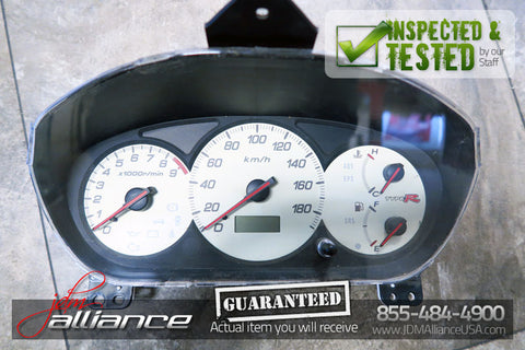 JDM 02-05 Honda Civic Type R EP3 OEM Gauge Cluster MT Speedometer K20A - JDM Alliance