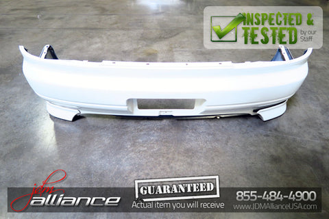 JDM Nissan Silvia S15 OEM Rear Bumper Cover Assembly w/ Valance Spats - JDM Alliance
