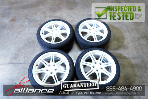 JDM Honda Civic Type R EP3 Si Si-R OEM Wheels Rims 17x7 +45 Offset 5x114.3 - JDM Alliance
