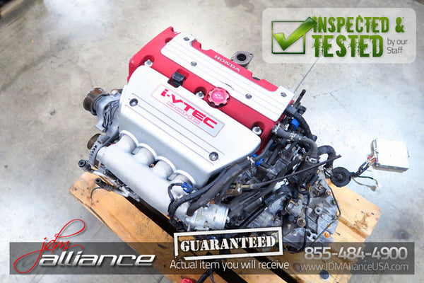 JDM Honda Accord Euro R CL7 K20A 2.0L DOHC i-VTEC Engine 6 Spd LSD Transmission ASP3 - JDM Alliance