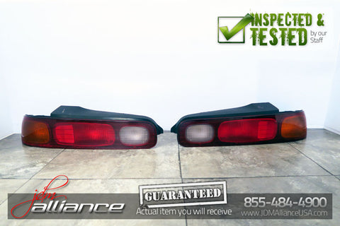 JDM 94-01 Honda Acura Integra Type R DC2 Coupe 2DOOR OEM Tail Lights - JDM Alliance