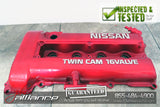 JDM 89-93 Nissan Silvia SR20DET S13 OEM Red Top Valve Cover - JDM Alliance
