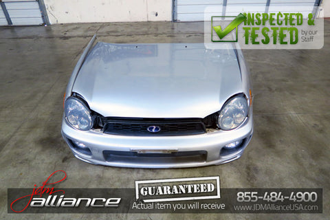 JDM 00-03 Subaru Impreza GD GG Bugeye Front Nose Cut Conversion Hood Bumper - JDM Alliance