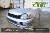 JDM 00-03 Subaru Impreza GD GG Bugeye Front Nose Cut Conversion Hood Bumper - JDM Alliance LLC