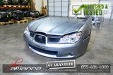 JDM 06-07 Subaru Impreza V9 Nose Cut Headlights Bumper Hood Hawkeye - JDM Alliance