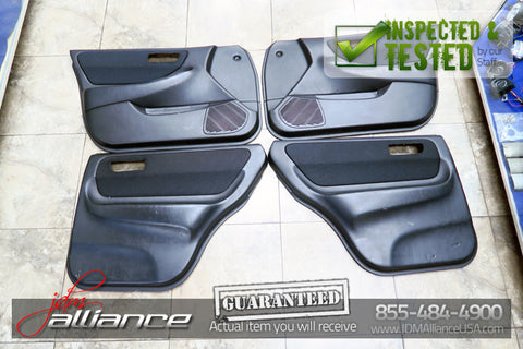 JDM 94-01 Honda Acura Integra Type R DB8 Door Panels Cards 4DR GSR SiR Sedan - JDM Alliance LLC