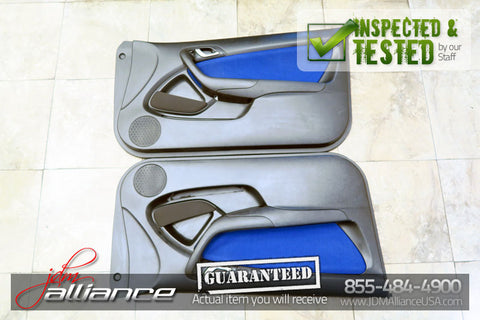 JDM 02-04 Honda Integra Acura RSX Type R DC5 Blue Door Panels Cards - JDM Alliance LLC