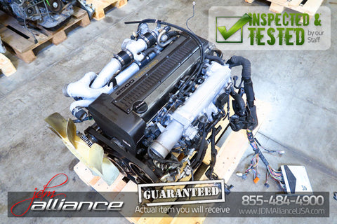 JDM Toyota 1JZ-GTE Twin Turbo 2.5L DOHC *Rear Sump* Engine 1JZ - JDM Alliance LLC