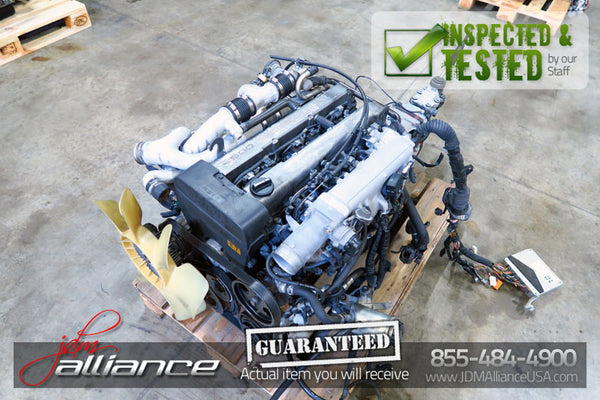 JDM Toyota 1JZ-GTE Twin Turbo 2.5L DOHC *Rear Sump* Engine 1JZ - JDM Alliance