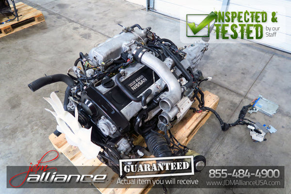 JDM Nissan Skyline GTS R33 RB25DET 2.5L DOHC Turbo Engine & 5 Speed RWD Transmission - JDM Alliance