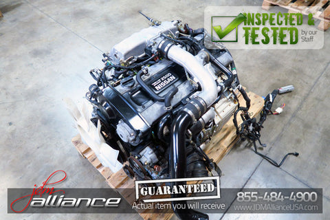 JDM Nissan Skyline GTS R33 RB25DET 2.5L DOHC Turbo AWD Engine RB25 S2 - JDM Alliance LLC