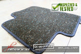 JDM 94-01 Honda Acura Integra Type R DC2 OEM Grey Floor Mats - JDM Alliance