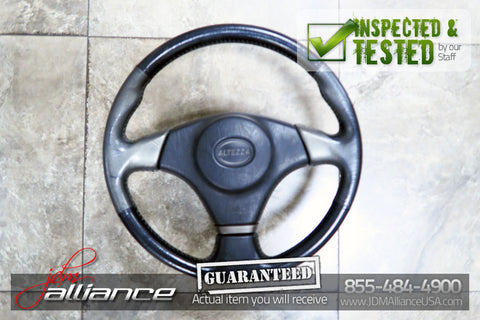 JDM 98-05 Toyota Altezza SXE10 OEM Leather Steering Wheel Hub IS200 IS300 - JDM Alliance LLC