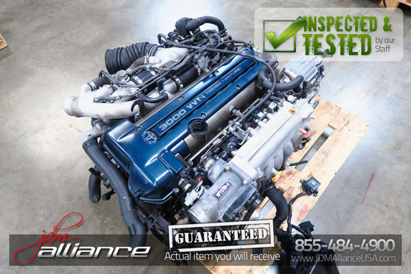 JDM Toyota 2JZ-GTE 3.0L DOHC Twin Turbo VVTi Engine ECU Wiring Aristo SC300 - JDM Alliance LLC