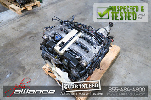 JDM Nissan 300ZX Z32 VG30DE 3.0L DOHC Non-Turbo Engine VG30 NA - JDM Alliance