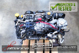 JDM 02-05 Subaru Impreza WRX EJ205 2.0L Quad Cam Turbo Engine EJ20 Non-AVCS - JDM Alliance