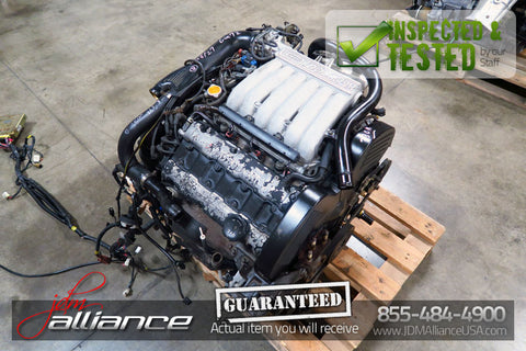 JDM 90-93 Mitsubishi GTO 3000GT 6G72 Twin Turbo Engine 5 Spd AWD Trans Stealth - JDM Alliance
