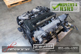 JDM Toyota 2JZ-GTE 3.0L DOHC Twin Turbo Engine ECU Wiring Aristo SC300 Non-VVTi - JDM Alliance