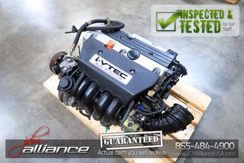 JDM 02-06 Honda CR-V K24A 2.4L DOHC i-VTEC Engine - JDM Alliance
