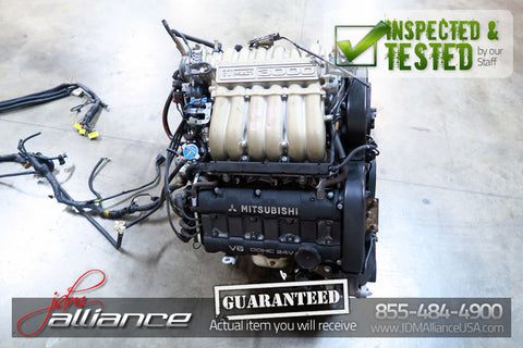 JDM 94-97 Mitsubishi 3000GT 6G72 3.0L DOHC *Non-Turbo* Engine Dodge Stealth - JDM Alliance LLC