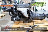 JDM 90-97 Mazda Miata B6 1.6L DOHC Engine 5 Speed Manual Transmission - JDM Alliance LLC