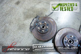 JDM Subaru Impreza GC8 4pot Brake Calipers Spindle Hub Knuckle Front STI GF8