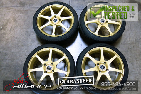 JDM Advan Model 7 AVS Wheels Rims 17x7 4x114.3 - JDM Alliance LLC