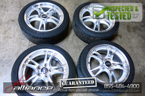 Manaray Sport Vertec VR-5 17x7 5x114.3 Wheels Rims - JDM Alliance LLC