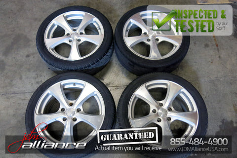 JDM Weds Leonis 17x7 5x114.3 Wheels Rims - JDM Alliance