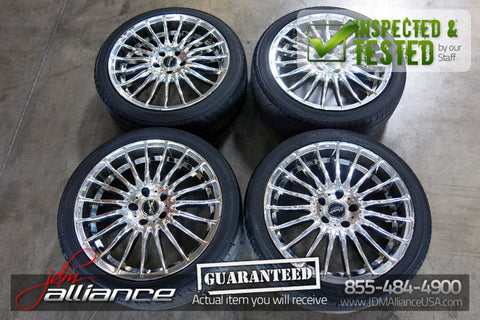 "JDM Warwic Monza 18"" Wheels 18x8 18x9 5x114.3 Rims - JDM Alliance"