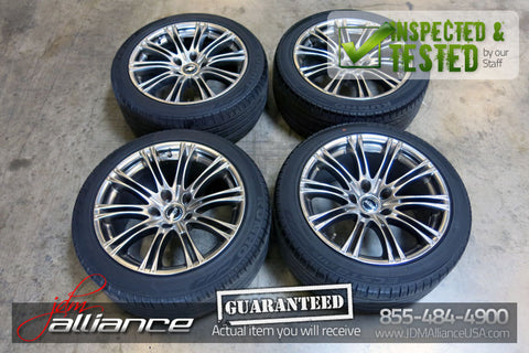"HUZE 18"" inch Wheels 5x120 18x9.5JJ 18x8.5JJ Wheels Rims Lexus GS300 - JDM Alliance LLC"