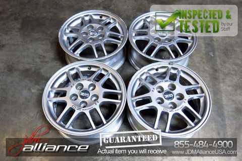 "JDM Mitsubishi Lancer Evo Enkei OZ Racing F-1 16x6.5 5x114.3 16"" Wheels Rims - JDM Alliance LLC"