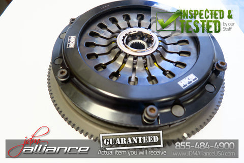 JDM 03-09 Subaru EZ30 H6 3.0L DOHC AWD 6 Speed HKS Clutch Kit Flywheel - JDM Alliance LLC