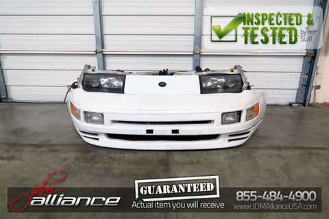 JDM 90-96 Nissan 300ZX Fairlady Z32 Twin Turbo Front End Nose Cut Headlight Bumper