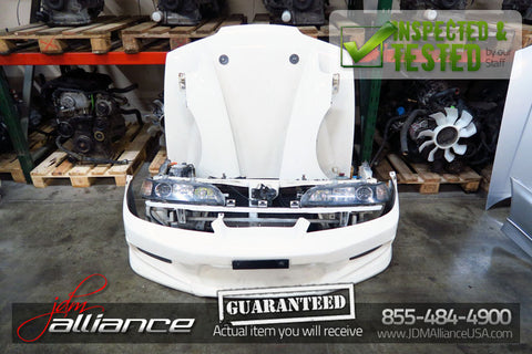 JDM 94-01 Honda Acura Integra Type R Front End Conversion Nose Cut DC2 DB8 - JDM Alliance LLC