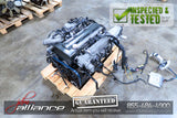 JDM Toyota 2JZ-GTE 3.0L DOHC Twin Turbo Engine ECU Wiring Aristo SC300 Non-VVTi