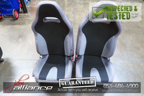 JDM 04-05 Subaru Impreza WRX V8 OEM Front Seats with Railings Pair LH RH - JDM Alliance LLC